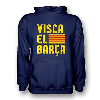 VISCA El Barca Hoody (marinen)