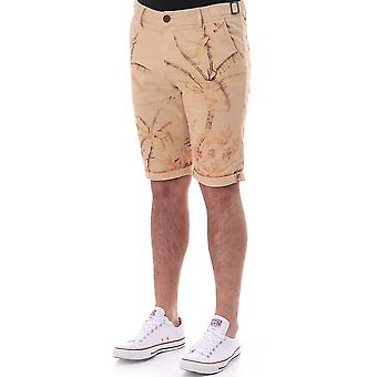 Pearly King Slim Fit Short avec Palm Tree Print