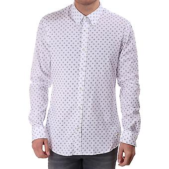 Scotch & Soda Ls Shirt With Allover Shell Print
