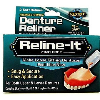 D.O.C. reline-it, Advanced Denture reliner 2 reparos