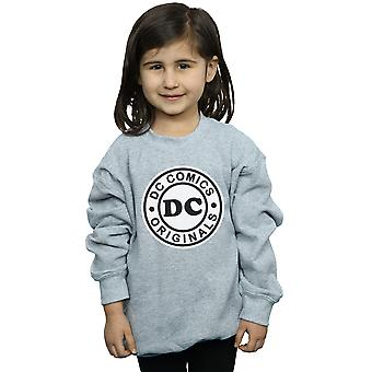 DC Comics Girls DC Originals Logo Sweatshirt