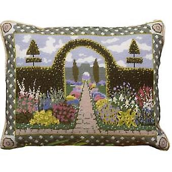 Enchanted Garden Needlepoint Kit