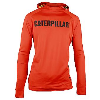 Caterpillar Mens Contour Hooded Workwear Pullover