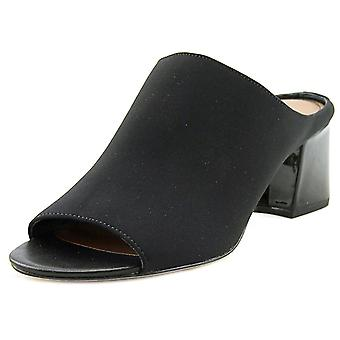 Donald J Pliner Womens Ellis-LJ Leather Open Toe Casual Slide Sandals