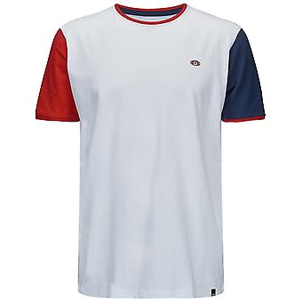 Animal Rail Kurzarm T-Shirt in weiß