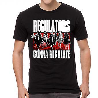 Young Guns Regulators Men's Black T-shirt
