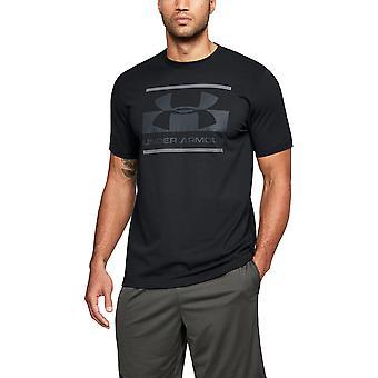 鎧メンズ ブロック Sportstyle ロゴ グラフィック半袖 T シャツの下