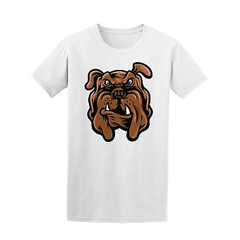 Bulldog Face  Tee Men's -Image by Shutterstock
