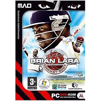 Brian Lara cricket 2007 (PC DVD)-fabriken förseglad