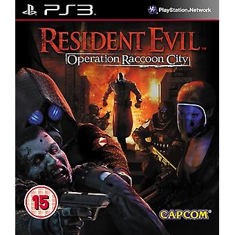 Resident Evil Operation Raccoon City (PS3) - Factory Sealed