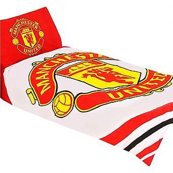 Manchester United enkelt Duvet Sett PL