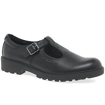 Geox Junior Casey t-bøylen Senior jenter skole sko