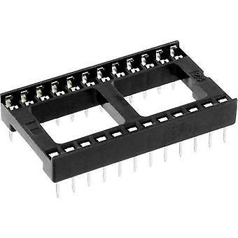 ECON connecter espacement de ICF 24 IC socket Contact : 15,24 mm nombre de broches : 24 1 PC (s)