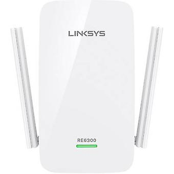 Linksys RE6300 Wi-Fi repeater 750 Mbps 2.4 GHz, 5 GHz