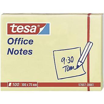 Tesa ® مكتب تلاحظ 100 ورقة، أصفر 100 × 75 ملم
