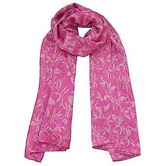 粉红蜂蜜吸吮丝围巾