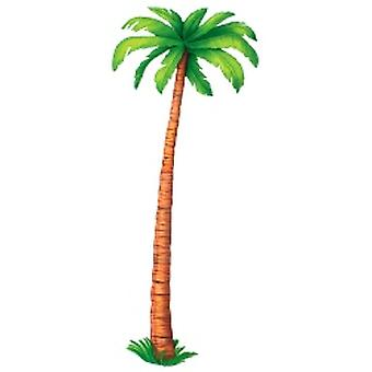 Jointed Palm Tree Printed 6ft