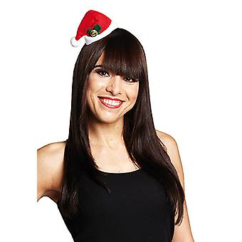 Boże Narodzenie miniaturowe Spinka do włosów