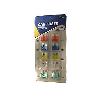 Flat fuses Midi 10-Pack