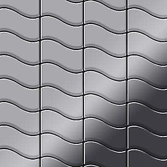 Metalowa mozaika ze stali nierdzewnej Alloy Flux-S-S-M