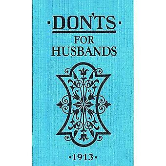 Don'ts voor echtgenoten