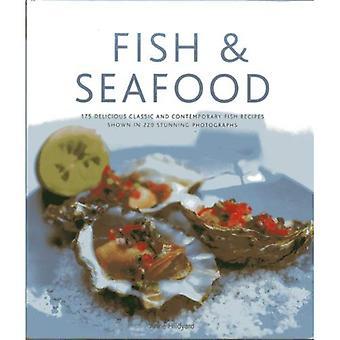 Fisk & Seafood: 130 läcker klassisk och modern Fiskrecept visas i 270 fantastiska fotografier