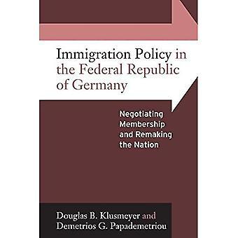 Saksan liittotasavallan maahanmuuttopolitiikan