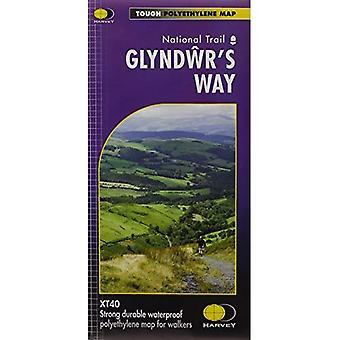 Glyndwr's Way XT40 (Route Maps)