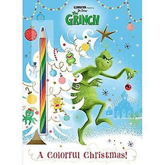 En färgglad jul! (Belysning 's Grinchen)