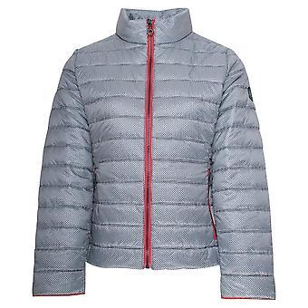 Junge Geometric Design Upcycled Padded Jacket