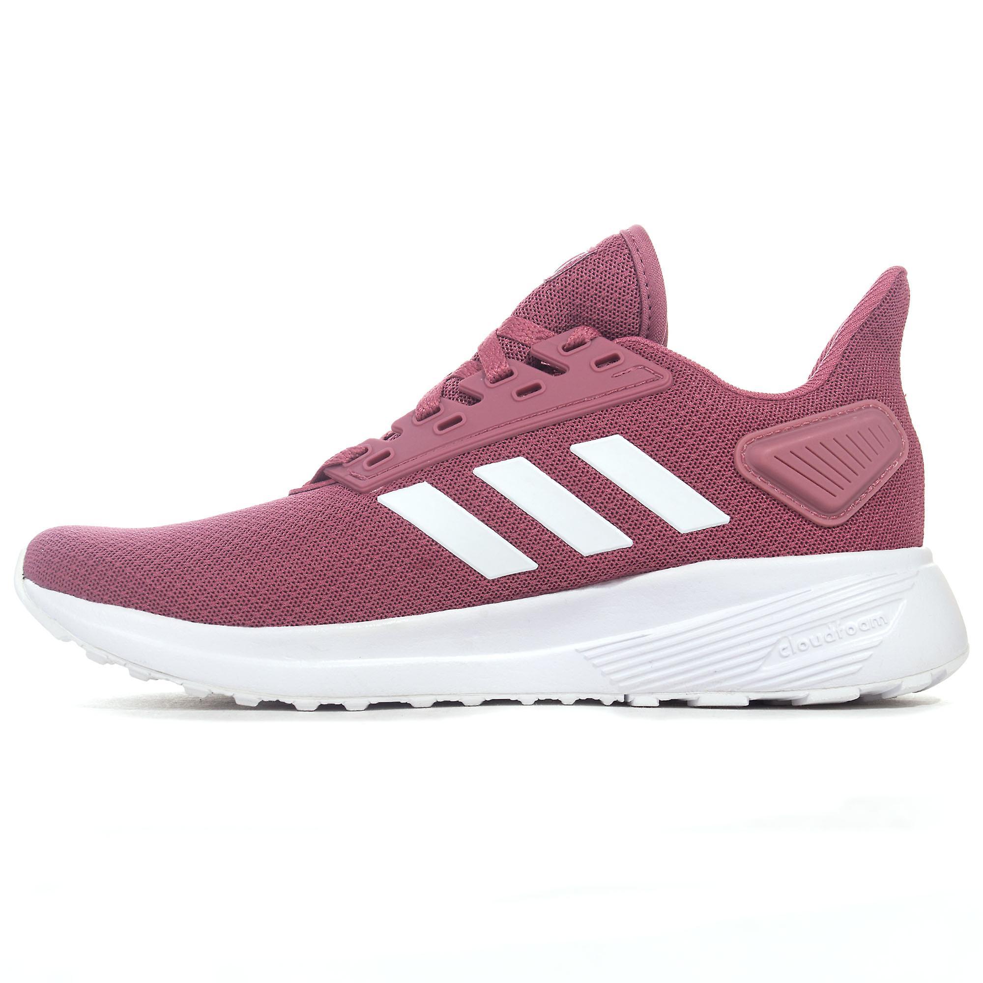 Adidas Duramo 9 kvinners nøytral kjører trener sko rosa