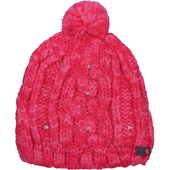 Roxy Womens Shooting Star Beanie - Red Teaberry