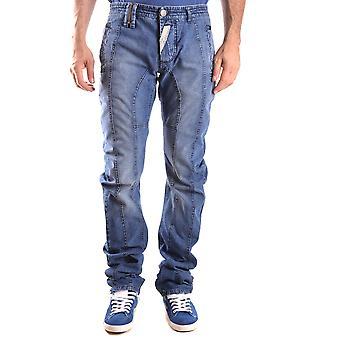 John Galliano Ezbc189006 Men's Blue Denim Jeans
