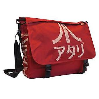 Red Japanese Atari Messenger Bag