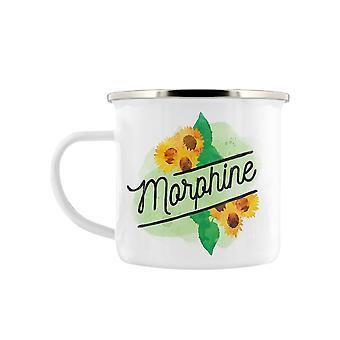 Tasse d'émail morphine Detox mortelle