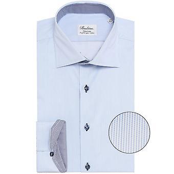 Stenstroms Fitted Body Pinstripe Shirt