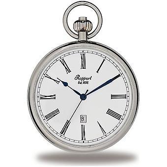 Rapport London Pocket Watch open gezicht Pocket Watch PW73
