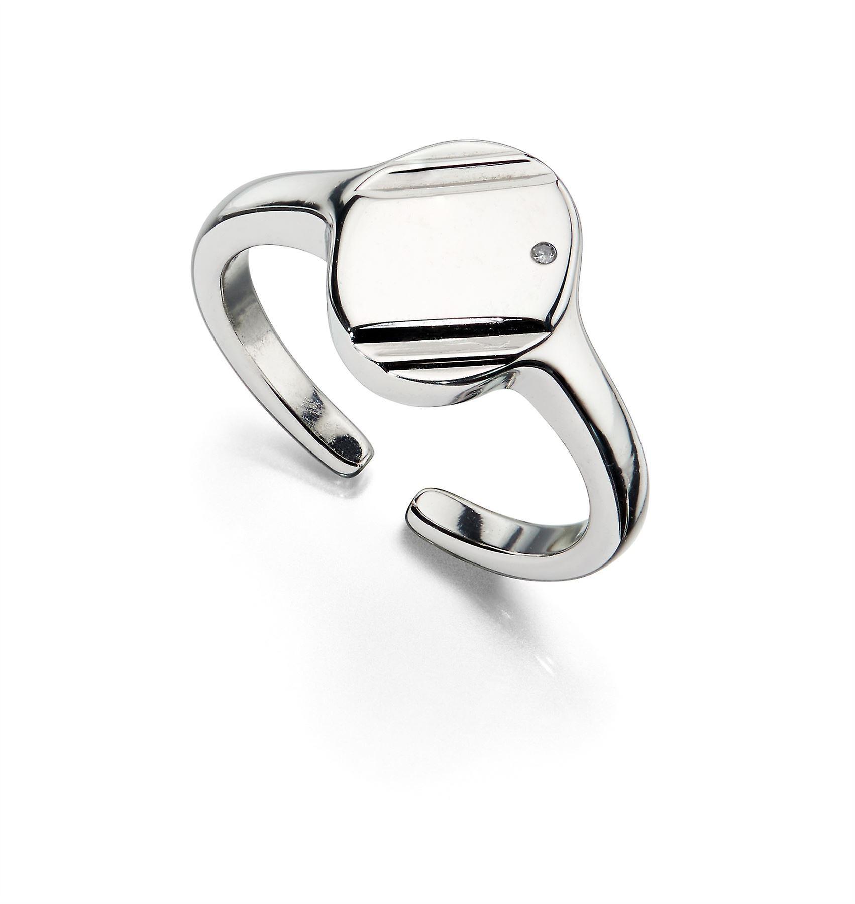 D For Diamond - Signet Ring