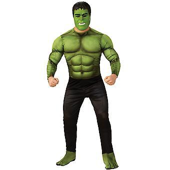 Adult Hulk Costume - Avengers