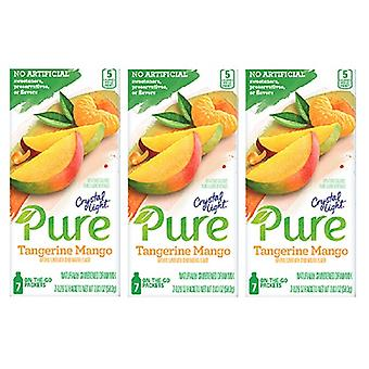 Crystal Light pure Tangerine mango drinken mix 3 pack