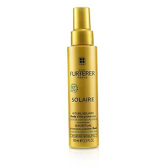 Rene Furterer Solaire Sun Ritual Protective Summer Fluid (Hair Exposed To The Sun, Natural Effect) 100ml/3.3oz
