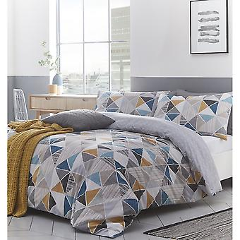 Creative Cloth Harlequin Duvet Cover Set