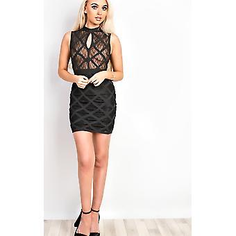 IKRUSH Womens Arisha bandage Bodycon kjole
