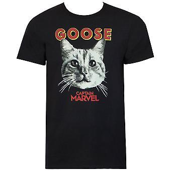 Captain Marvel Película Goose Hombres's Camiseta
