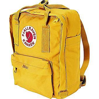 FJALLRAVEN K nken Mini Unisex Backpack - Yellow (Warm Amarillo) - 20 x 13 x 29 cm