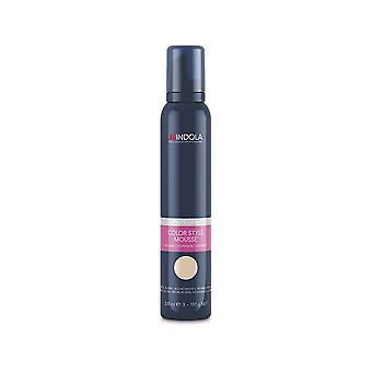 Indola Colour Style Mousse Medium Blonde 200ml