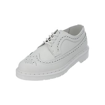 Dr. Martens 3989 SMOOTH Women's Lace-Up Shoes White Leather Sneakers NEW OVP