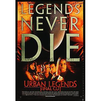 Urban Legends - Final Cut (2000) Original Cinema Poster