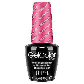 OPI GelColor Gel Color - Soak Off Gel Polish - Dutch Tulips 15ml (GC L60)