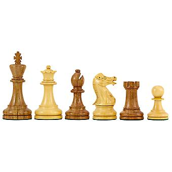 Executive Staunton Chessmen in Sheesham 3.75 Inches